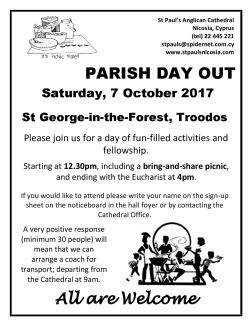 Parish Day Out