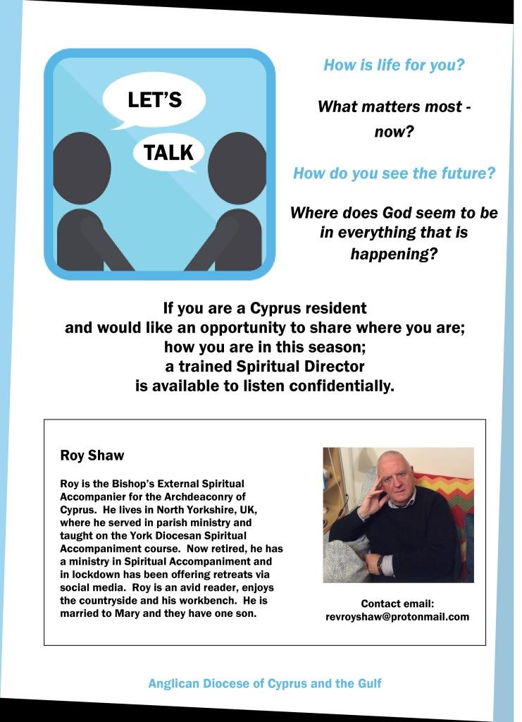 Cyprus Spiritual Director